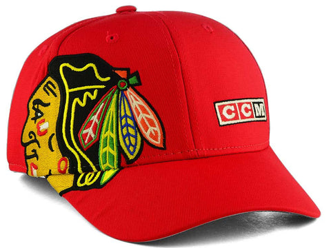 Chicago Blackhawks NHL CCM - Current Structured Flex Cap