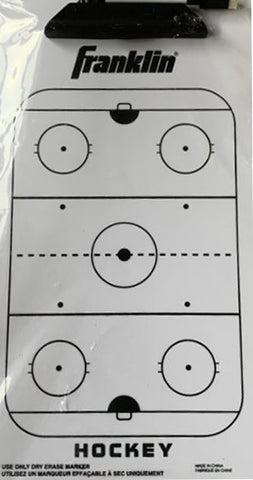 Franklin Sports Dry-Erase - Ice Hockey Coaching Clipboard