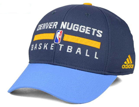 Denver Nuggets NBA adidas - Practice Flex Cap