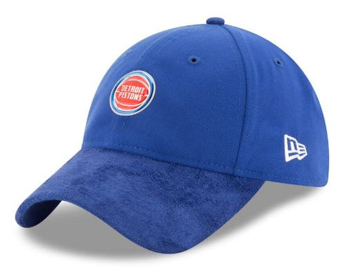 Detroit Pistons NBA New Era - On Court Collection 9TWENTY Blue Cap
