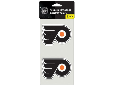 Philadelphia Flyers 2-pack 4x4 Die Cut Decal
