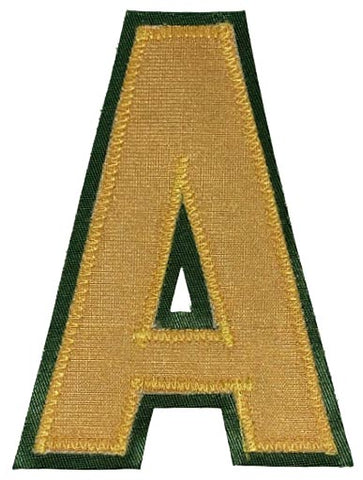 Assistant's A - Gold/Forest Green