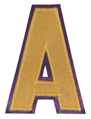 Assistant's A - Gold/Purple