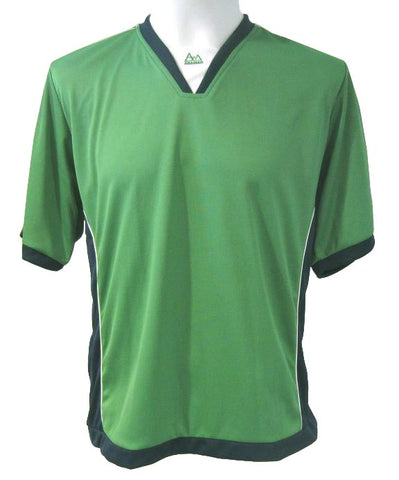 Soccer-Volleyball Jersey (Green-Navy-White)