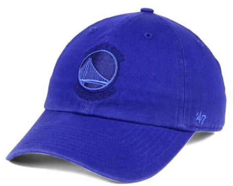 Golden State Warriors NBA '47 Brand - Triple Rush CLEAN UP Cap