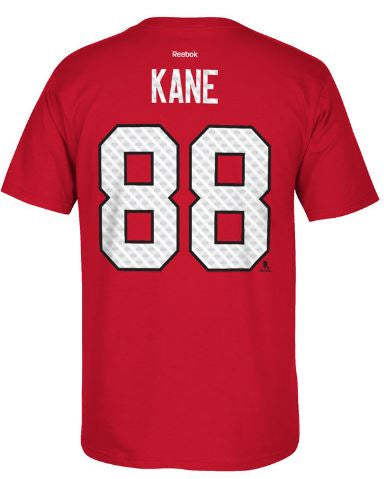 Chicago Blackhawks Patrick Kane Reebok NHL Player T-Shirt