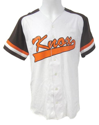 Knox Athletic Knit - Full Button Front Baseball Jersey