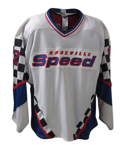 Knoxville Speed UHL - White #62 Pro Jersey