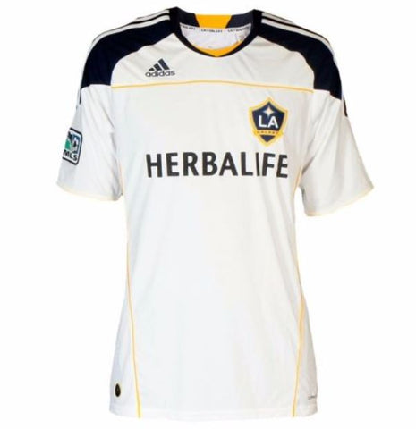 Los Angeles Galaxy MLS adidas - White Jersey