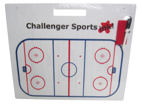 Challenger Hockey Coach-Roster Board