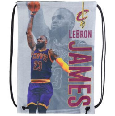Cleveland Cavaliers Lebron James Player Printed Drawstring Bag