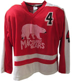 Macquarie Bears Vintage 1982 - Game Worn Ice Hockey Jersey #4