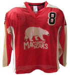 Macquarie Bears Vintage 1984 - Game Worn Ice Hockey Jersey #8