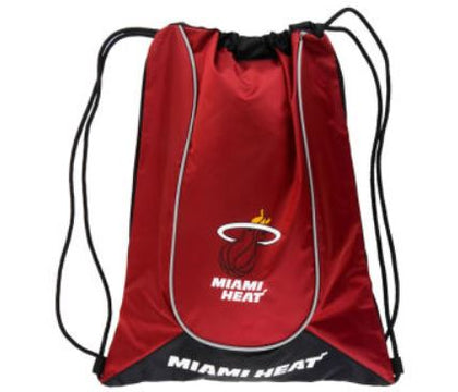 Miami Heat NBA Forever Collectibles - Doubleheader Drawstring Backpack
