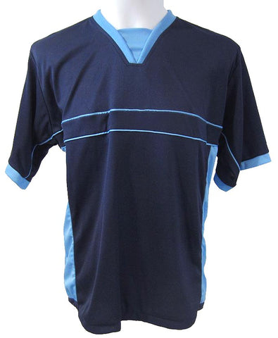 Soccer-Volleyball Jersey (Navy-Powder Blue)