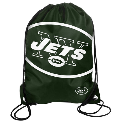 New York Jets NFL Forever Collectibles - Big Logo Drawstring Backpack