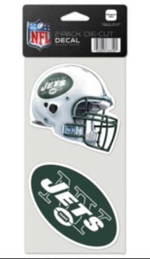 New York Jets  2-Pack Die Cut Decals