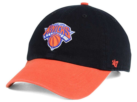 New York Knicks NBA '47 Brand - 2Tone CLEAN UP Cap