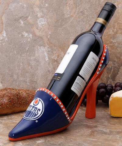 Edmonton Oilers NHL - Shoe Wine Bottle Holder