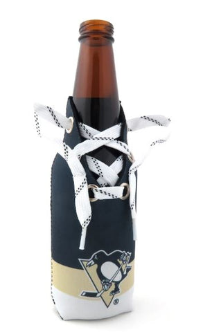 Pittsburgh Penguins Hockey Lace Stubby Holder