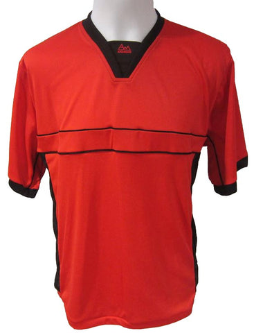 Soccer-Volleyball Jersey (Red-Black)