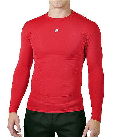 Firstar - CLOSE CALL Long Sleeve Top - Red