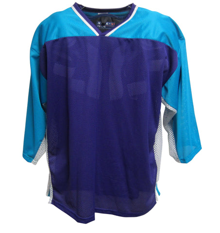 AK Inline Hockey Jersey - Purple-Teal-White