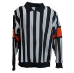 AK Referee Series - 1-4 Zip Jersey Sewn Armbands Orange