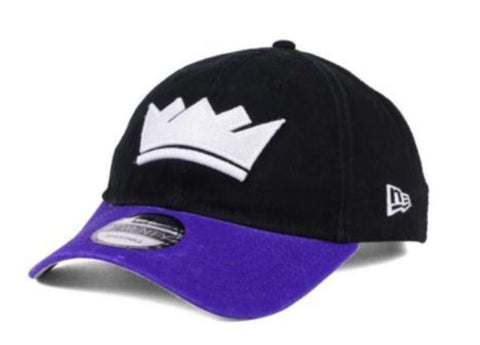 Sacramento Kings NBA New Era - 2Tone Shone 9TWENTY Black-Purple Cap