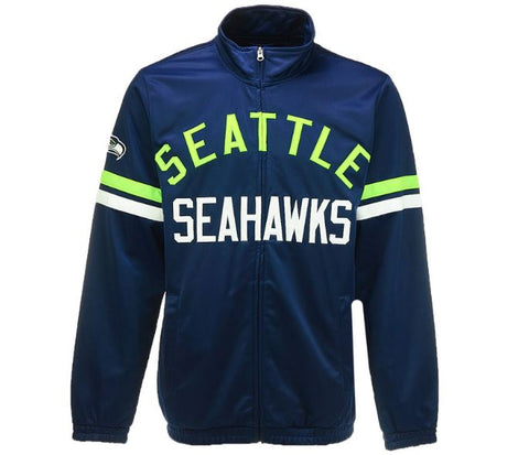 Seattle Seahawks G-III Sports NFL Men's Veteran Track Jacket