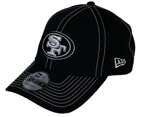 San Francisco 49ers NFL New Era - League Black 9FORTY Cap