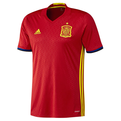 Spain Adidas Home Red Jersey
