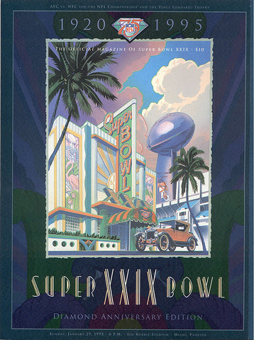 NFL Super Bowl XXIX - Official Program Magazine