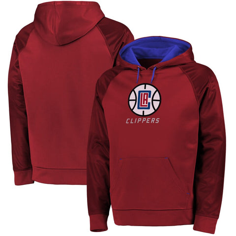 Los Angeles Clippers NBA Majestic - Armor II Pullover Hoodie