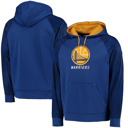 Golden State Warriors NBA Majestic - Armor II Pullover Hoodie