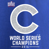 Chicago Cubs MLB Fanatics - World Series Champions Whiteout T-Shirt