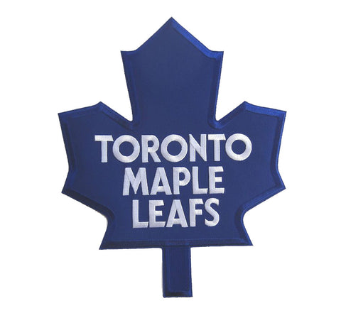 Toronto Maple Leafs - Blue Full Size Twill Applique Logo