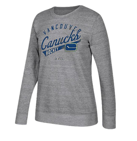 Vancouver Canucks NHL CCM - Women's Open Season Too Sweater