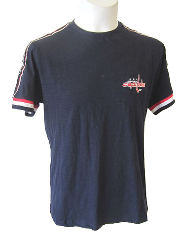 Washington Capitals NHL Free Planet - Navy Tri Colour T-Shirt