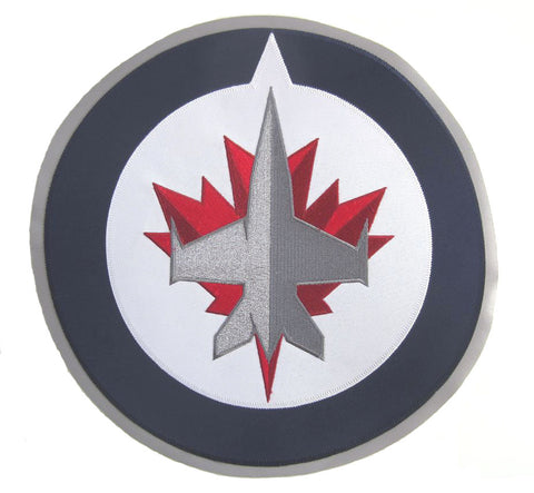 Winnipeg Jets - Full Size Twill Applique Logo