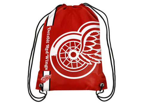 Detroit Red Wings NHL Forever Collectibles - Big Logo Drawstring Backpack
