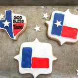 Texas Shaped Shortbreads - Individually Sold - Gourmet Cookies, Custom Shortbreads & Holiday Gifts | Dallas, TX