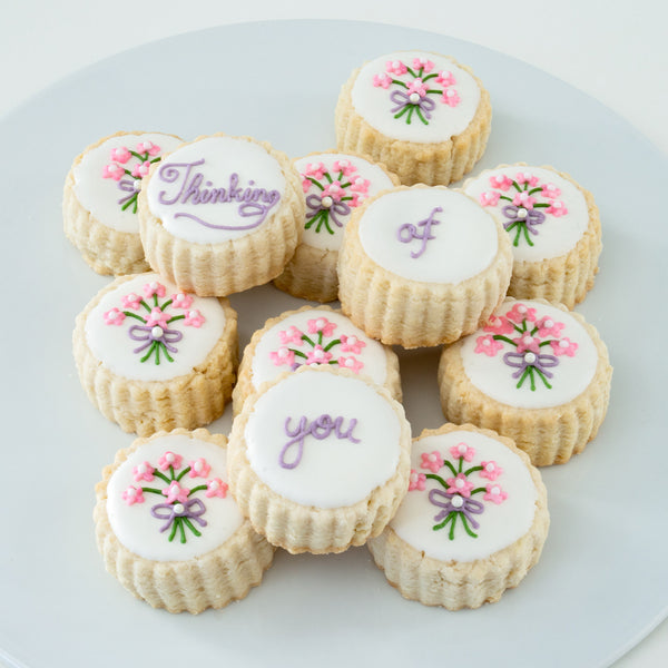 """Thinking of You"" Bouquet Cookie Tin"