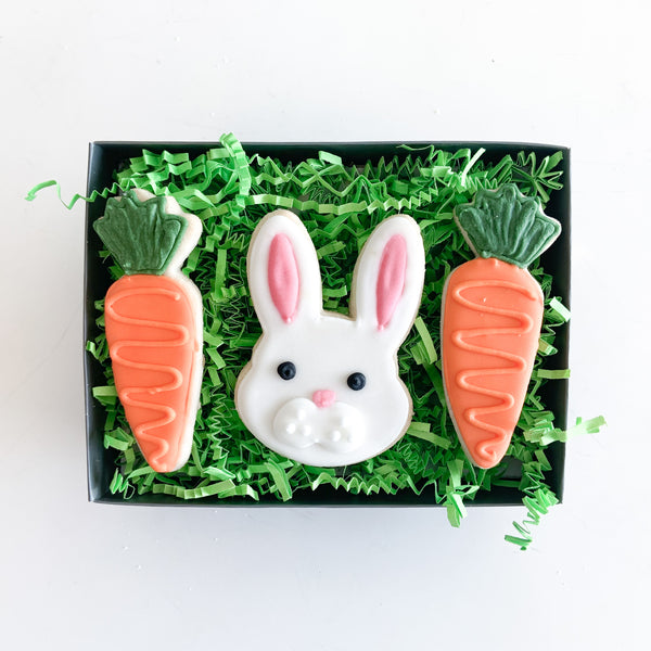 3-pc Bunny Basket Gift TIn