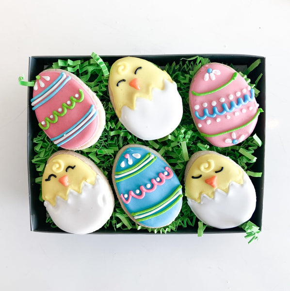 6-pc Easter Chick Gift Tin