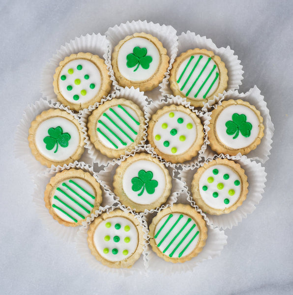 St. Patrick's Day Shortbreads