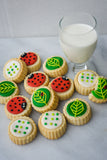 Ladybug-Leaf Gift Tin - Gourmet Cookies, Custom Shortbreads & Holiday Gifts | Dallas, TX