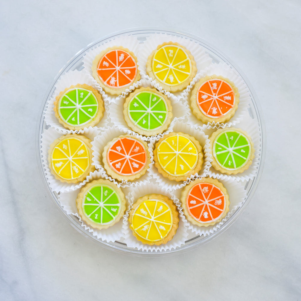 Citrus Mix Tin - Gourmet Cookies, Custom Shortbreads & Holiday Gifts | Dallas, TX
