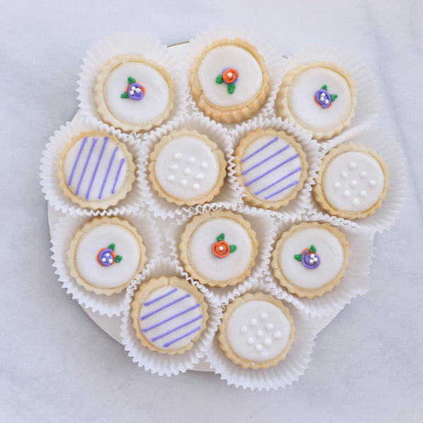 Rosette Tin - Gourmet Cookies, Custom Shortbreads & Holiday Gifts | Dallas, TX