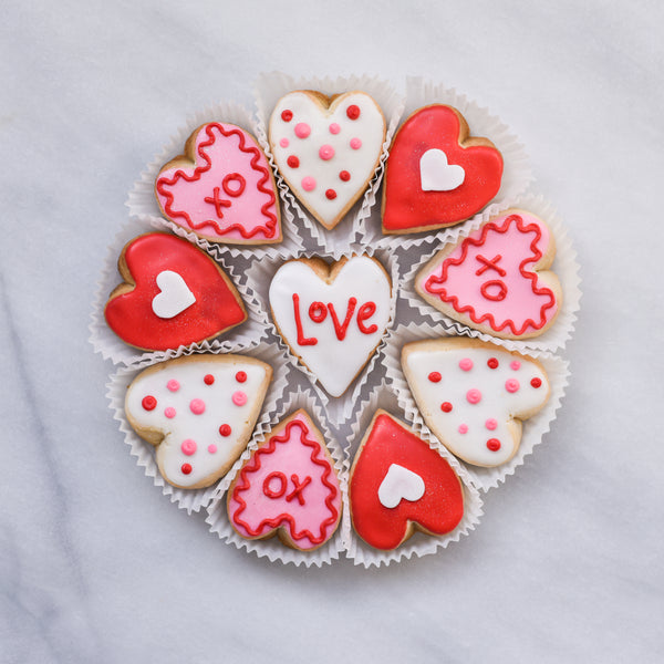 Valentine's Day Tin - Gourmet Cookies, Custom Shortbreads & Holiday Gifts | Dallas, TX